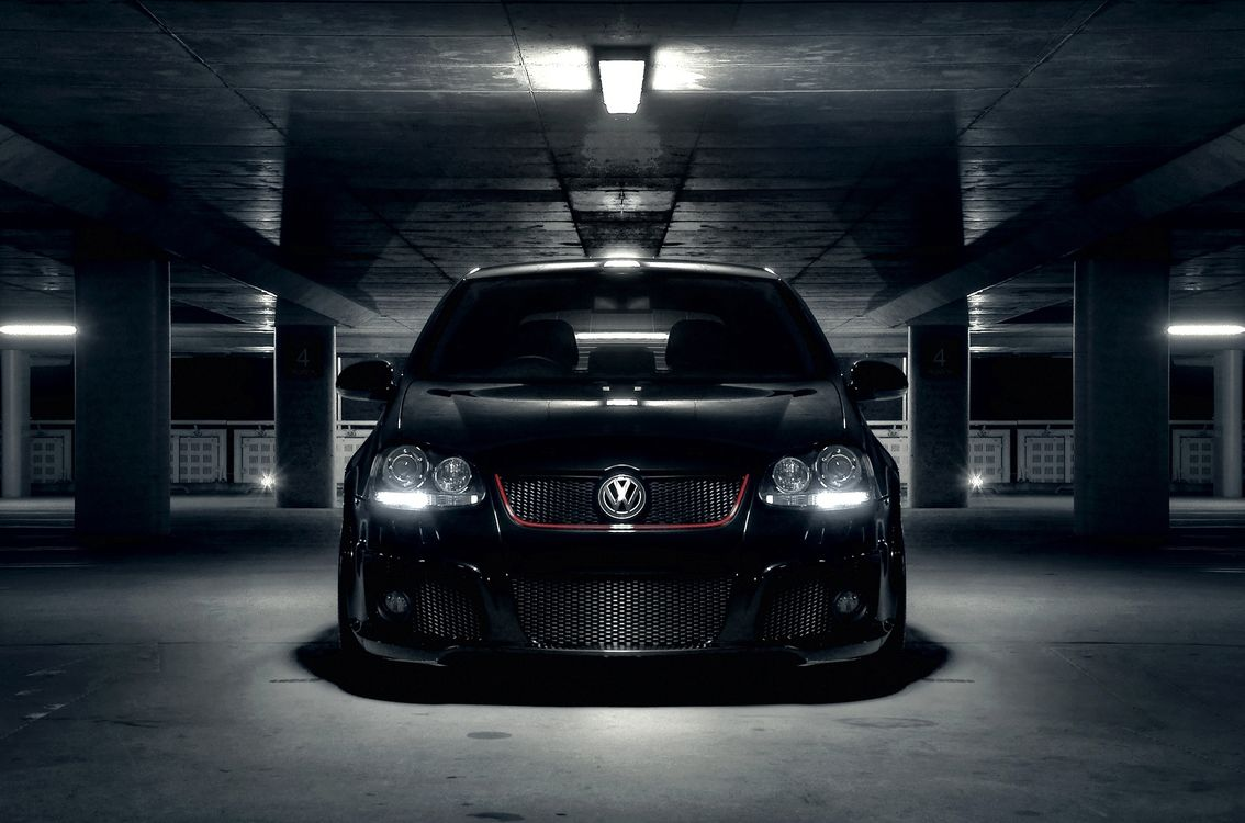 Free photo volkswagen, golf, black - to desktop