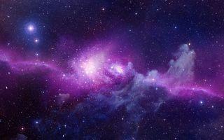 Заставки звезды, галактики, туманность
