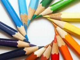Фото бесплатно олівці, колір, багато