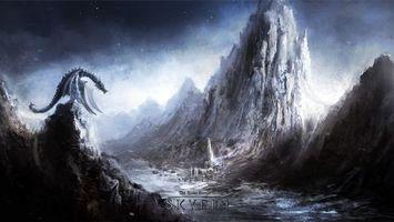 Фото бесплатно старинные свитки, the elder scrolls v skyrim, скайрим