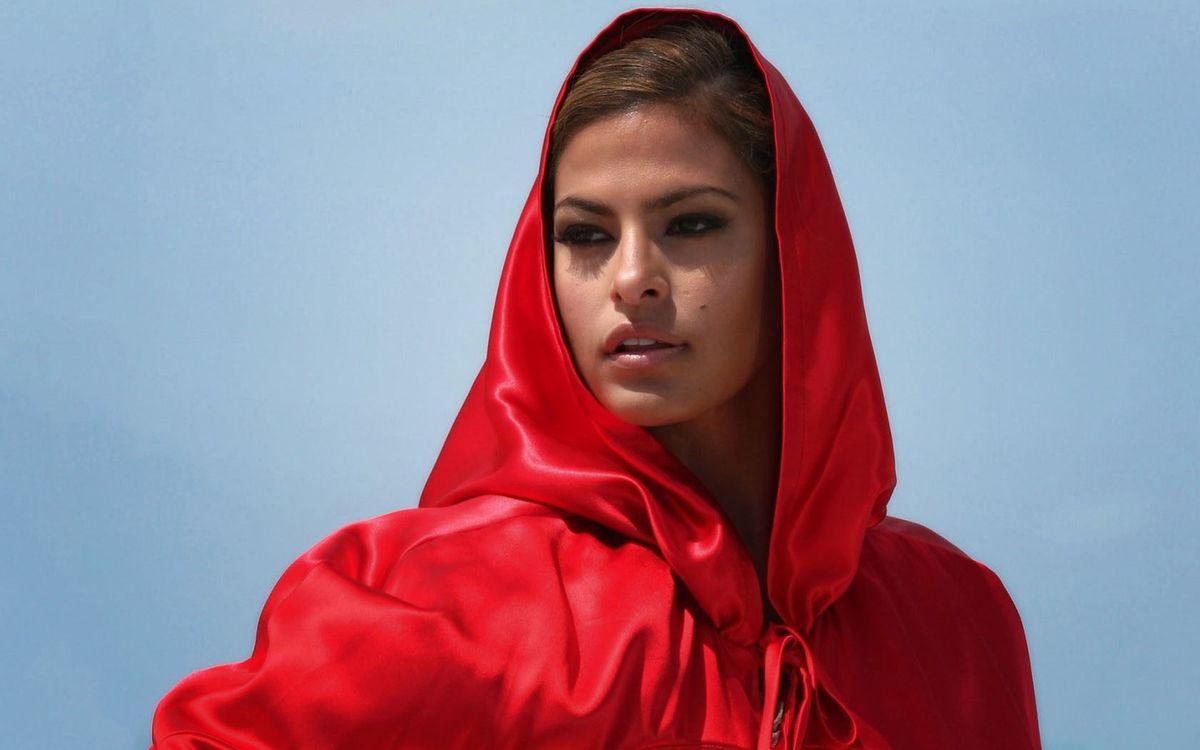 Фото бесплатно єва мендез, червоний, актриса - на рабочий стол