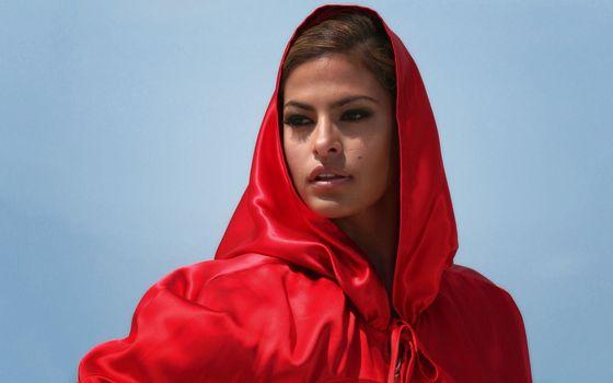 Бесплатные фото єва мендез,червоний,актриса,девушки