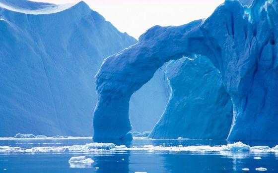 Фото бесплатно ледник, северный, полюс