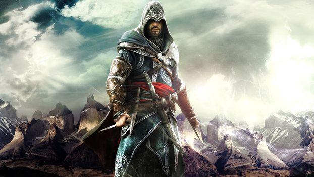 Photo free assassin, warrior, hood
