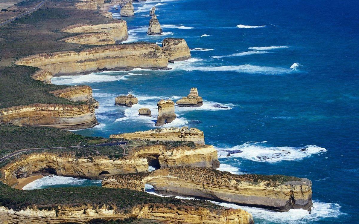 Фото бесплатно берег, камни, скалы, соре, океан, вода, волны - на рабочий стол