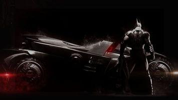 Фото бесплатно бэтмен, черный, рыцарь