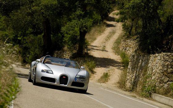 Фото бесплатно Вейрон, автомобили, камни