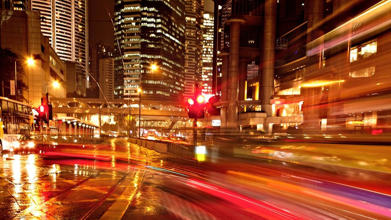 Улица ночь картинки