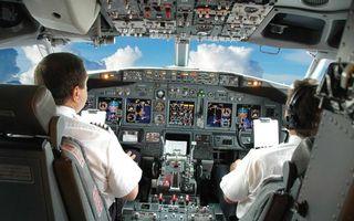 Фото бесплатно кабина пилота, боинг, панель управления