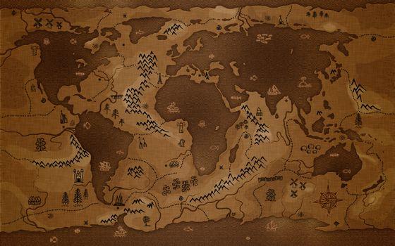 Фото бесплатно карта, мира, мир