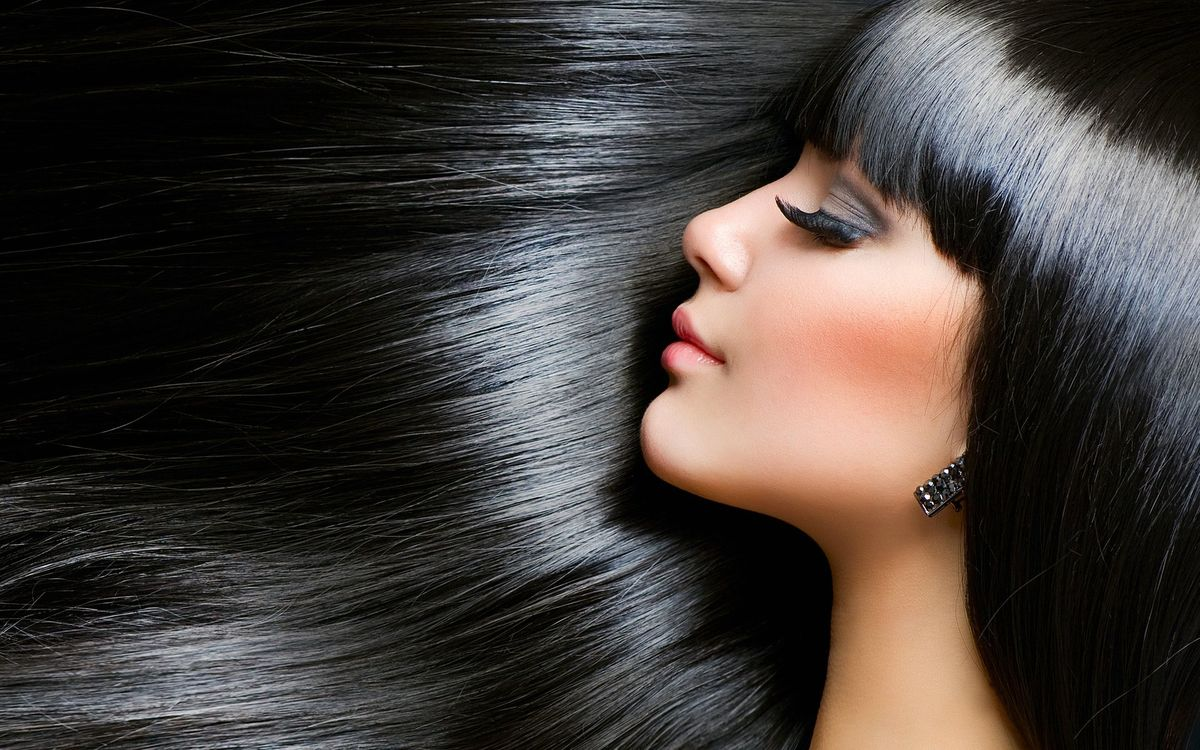 Фото бесплатно длинные, волосы, блестящие - на рабочий стол
