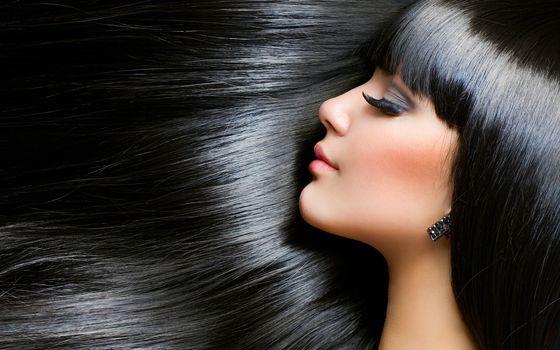 Фото бесплатно длинные, волосы, блестящие