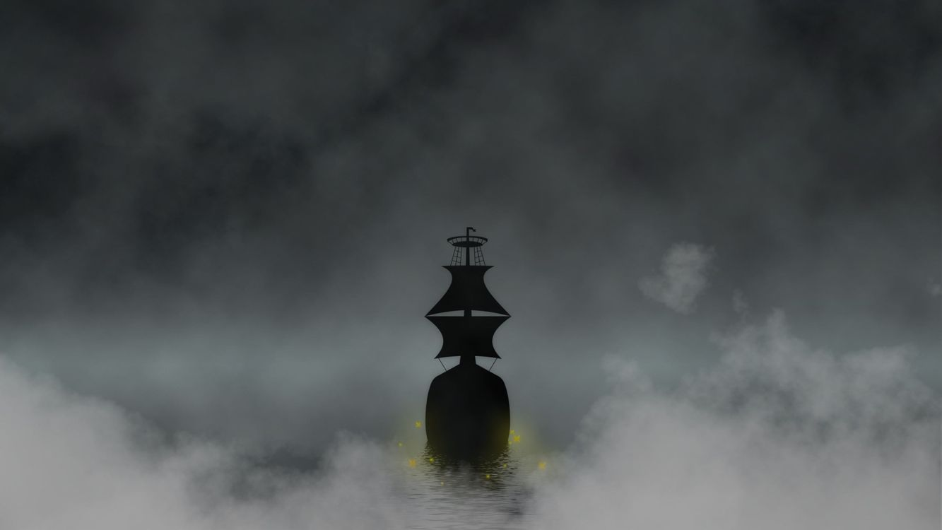 Photos for free sea, water, fog - to the desktop