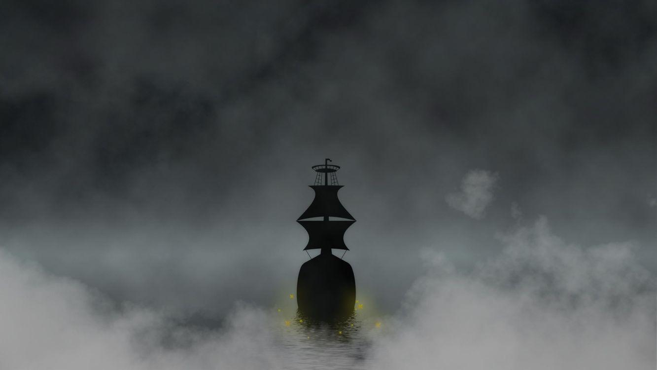 Фото бесплатно море, вода, туман - на рабочий стол