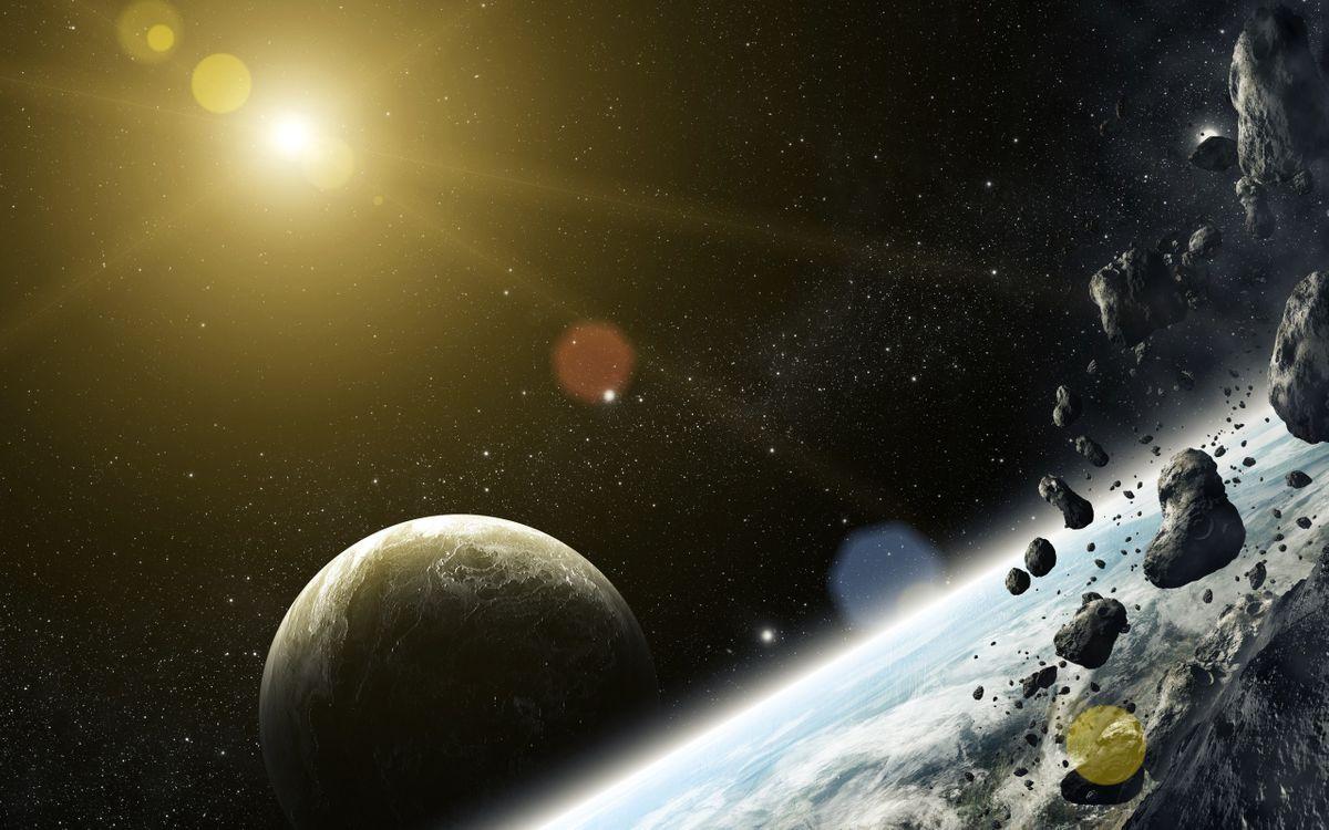Фото бесплатно новые миры, планеты, кометы - на рабочий стол