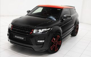 Photo free range rover, startech, black