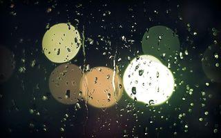 Фото бесплатно стекло, капли, дождь