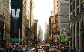Фото бесплатно улица, дома, реклама