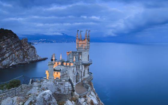 Фото бесплатно замок, ласточкино гнездо, крым