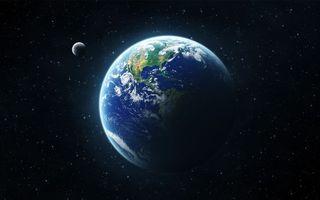Бесплатные фото земля,луна,планета,звезды,наша,солнечная,система