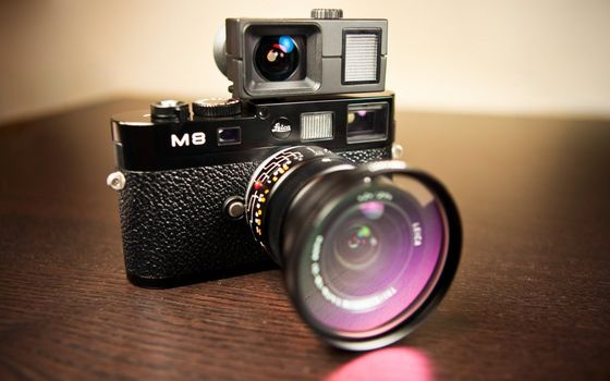 Фото бесплатно фотоаппарат, m8, объектив