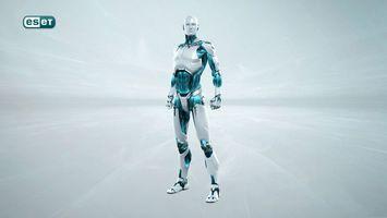Фото бесплатно eset, робот, серый