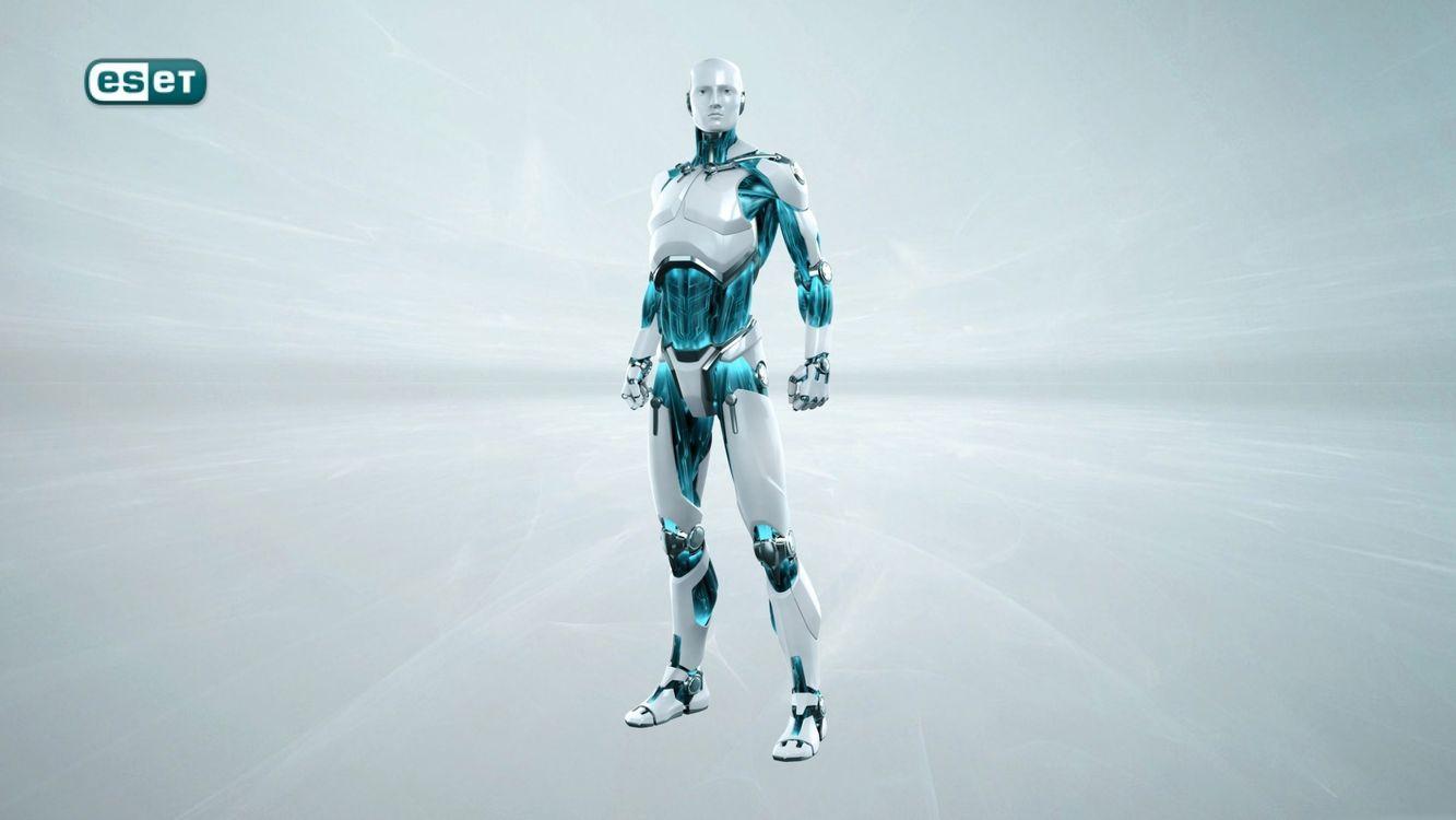 Фото бесплатно eset, робот, серый - на рабочий стол