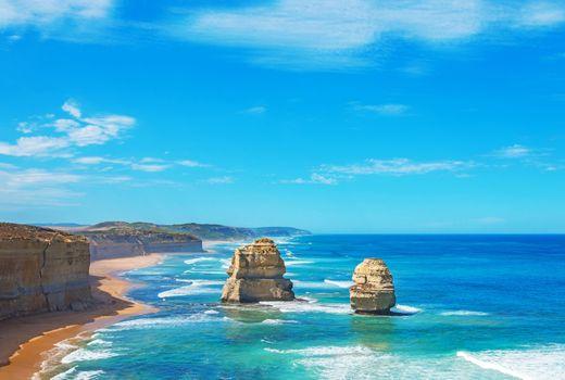 Заставки австралия, море, скалы