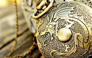 Фото бесплатно часы, гравировка, рисунок
