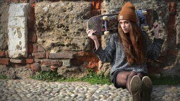 Фото бесплатно дом, шляпа, камни