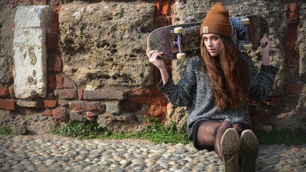 Фото бесплатно девушка, волосы, прическа