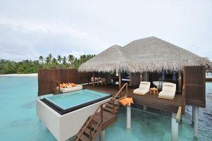 Фото бесплатно дом, океан, остров