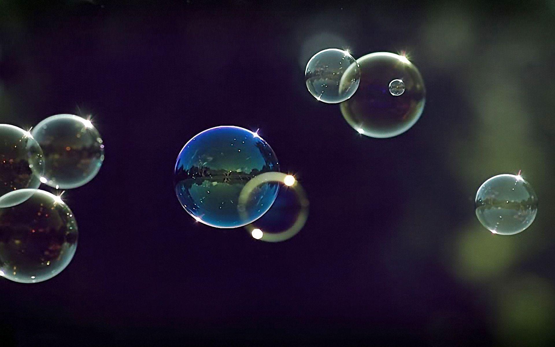 пузыри фон макро  № 3276057  скачать