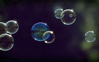 Фото бесплатно мыльные, пузыри, блик, отражение, макро, шар, природа