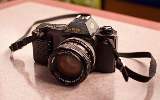Заставки фото, фотоаппарат, объектив