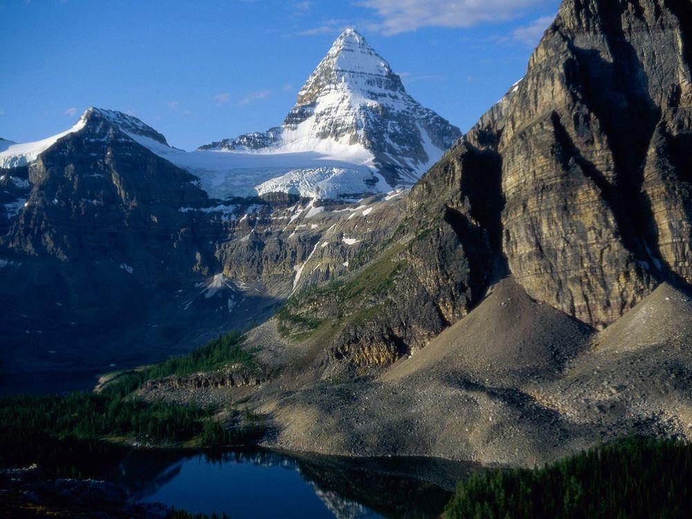 Фото бесплатно горы, высокие, снег - на рабочий стол