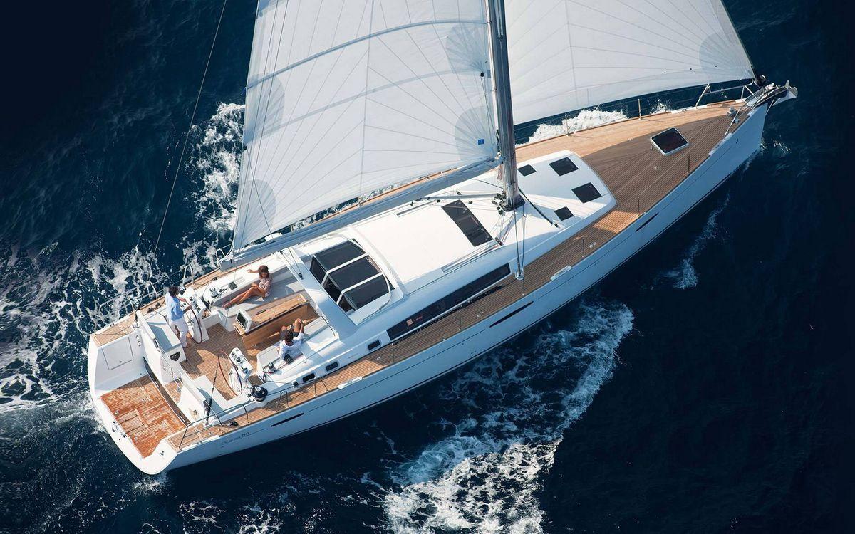 Фото бесплатно море, вода, волны, яхта, парус, белый, природа, природа