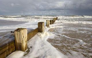 Фото бесплатно море, океан, пена