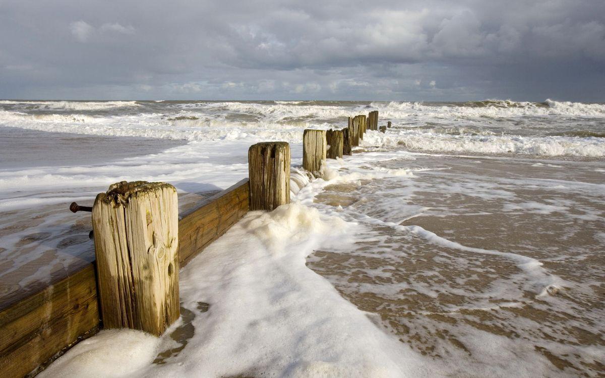 Фото бесплатно море, океан, пена - на рабочий стол