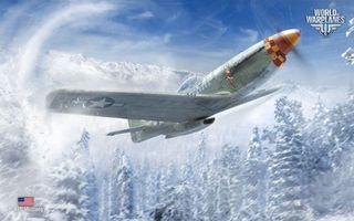 Бесплатные фото самолет,world of warplanes,крылья,лес,небо,облака,пропеллер