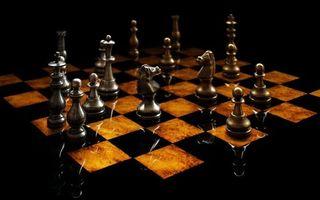 Фото бесплатно шахматы, доска, фигуры