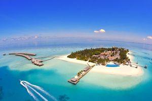 Фото бесплатно остров, курорт, бунгало