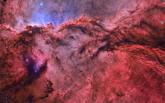 Фото бесплатно туманность, космическая, пыль