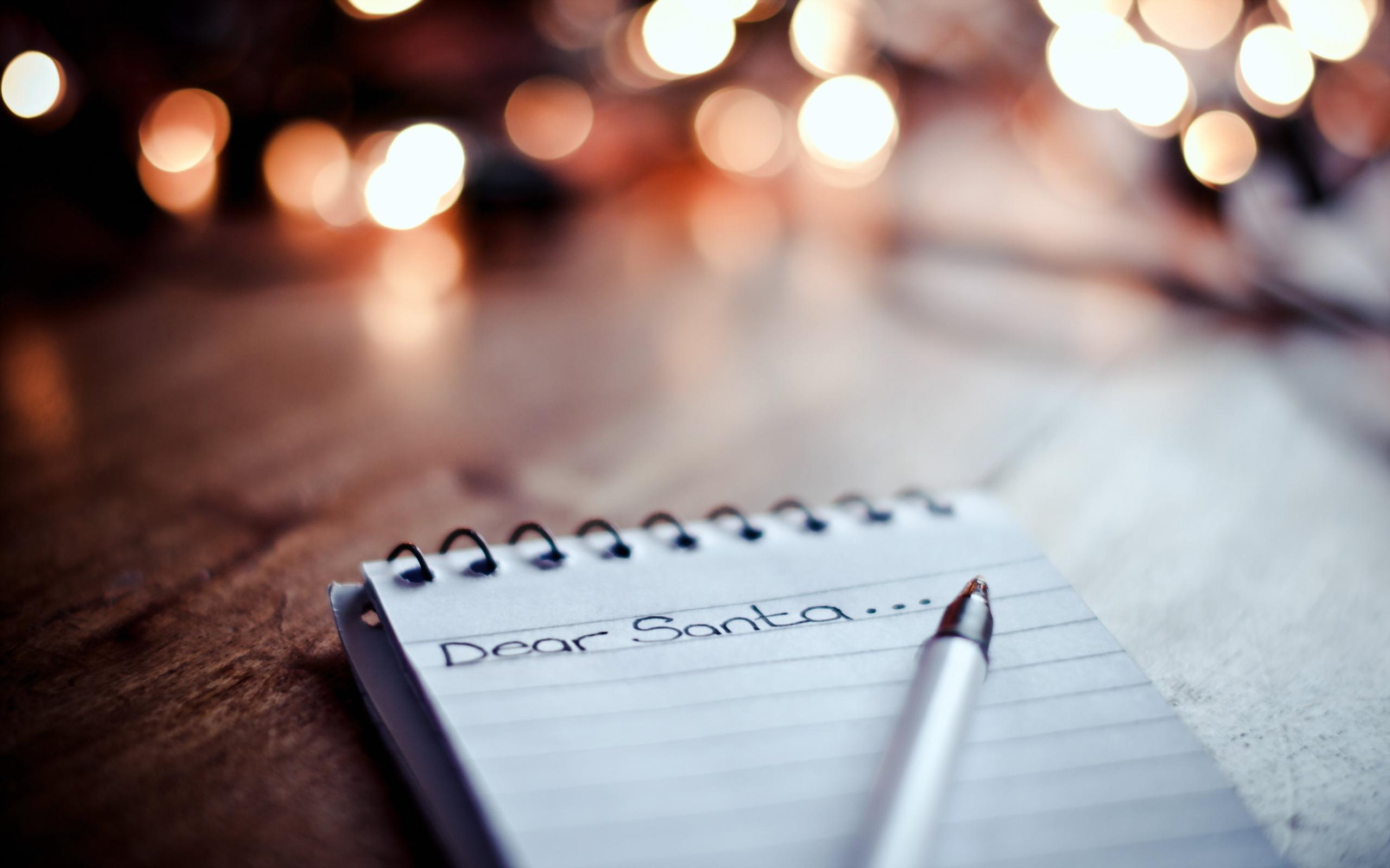 Картинка записка, письмо, dear santa, дорогой, санта на рабо.
