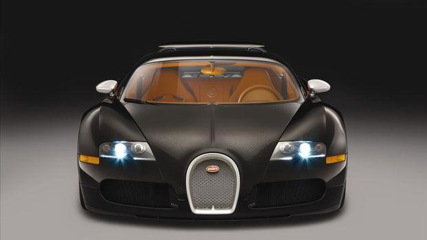 Бесплатные фото bugatti,корычневый,вид,машины