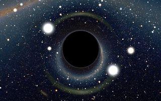 Заставки черная дыра, монстр, млечный путь