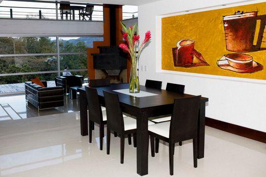 Фото бесплатно гостиная, стол, столы