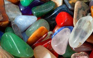 Фото бесплатно камушки, морские, разноцветные