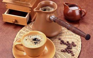 Фото бесплатно кофе, турка, пенка