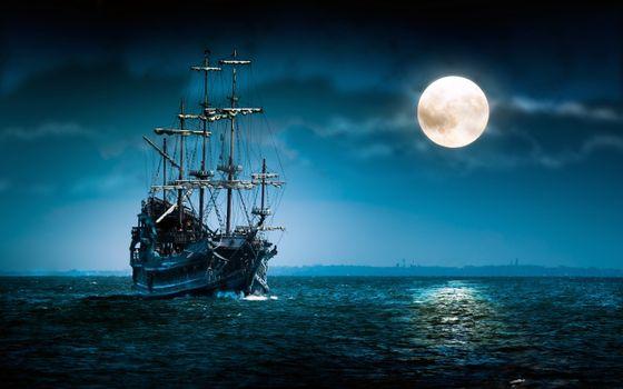 Photo free ship, sail, pirate